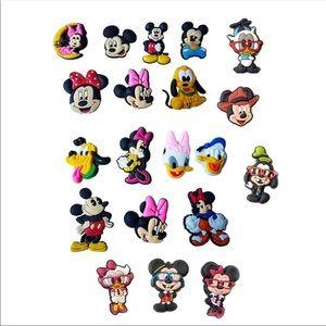 20 Disney Crocs Shoe Charms Jibbitz New 💕